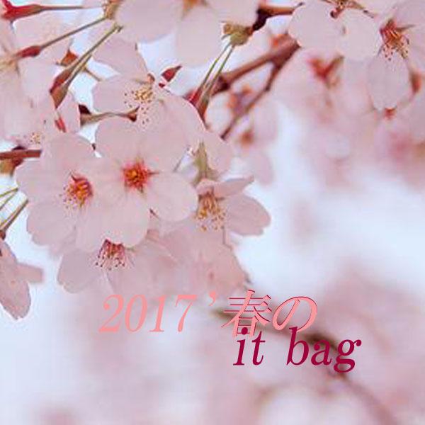 2017春のIT BAG